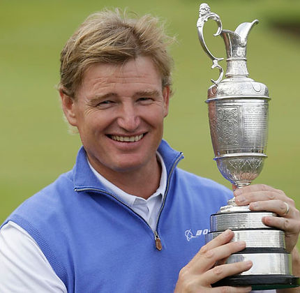 TAGG 200 GREATEST GOLFERS - ERNIE ELS - 4 x MAJOR WINNER
