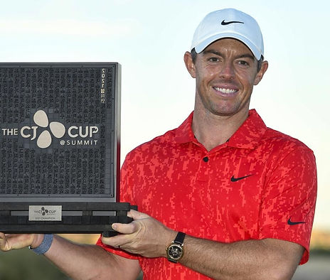 TAGG 200 GREATEST GOLFERS - RORY McILROY - 2021 THE CJ CUP - WINNER