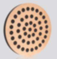 Okrągły panel akustyczny Wood Equalizer Circle