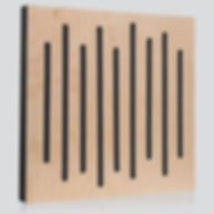 panele akustyczne, pochłanianie dźwięku, ustroje akustyczne, drewniane panele akustyczne, akustyka pomieszczeń, Wood Equalizer Pastel, współczynnik pochłaniania dźwięku α, pianka akustyczna