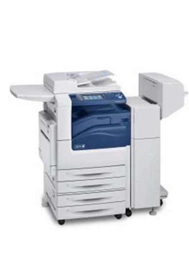 XEROX 7830 מדפסת כולל פינשר ליצור חוברות