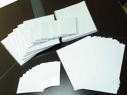 נייר לסובלימציה בגודל A4 100יח