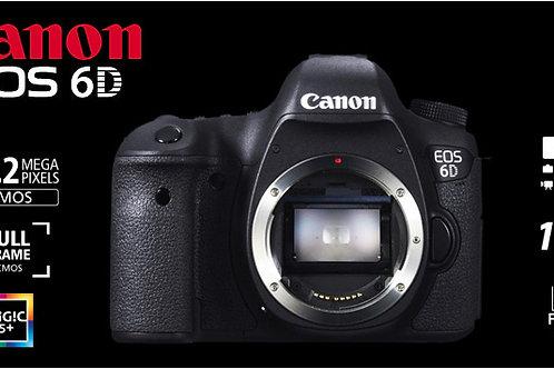 גוף בלבד Canon EOS 6D אחריות קרט