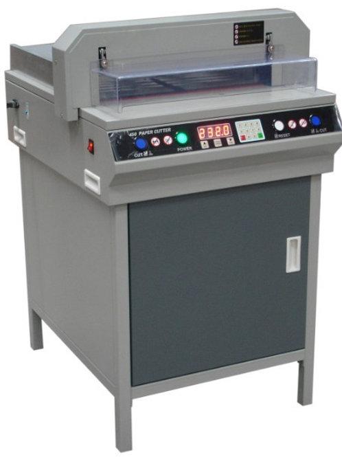 450+ paper cutter גיליוטינה חשמלית 45 סמ רוחב