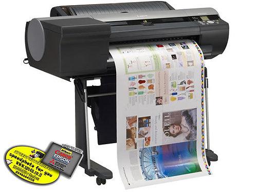"""מדפסת פורמט רחב IPF6400S  24""""   8 צבעים"""