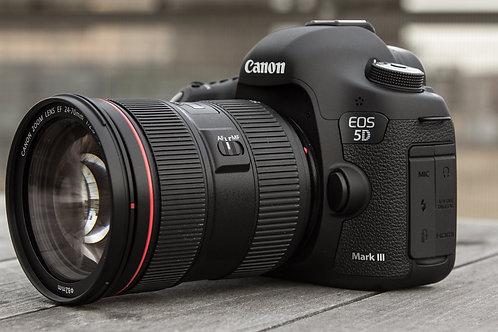 גוף בילבד Canon EOS 5D MARK III קרט 3 שנין אחריות