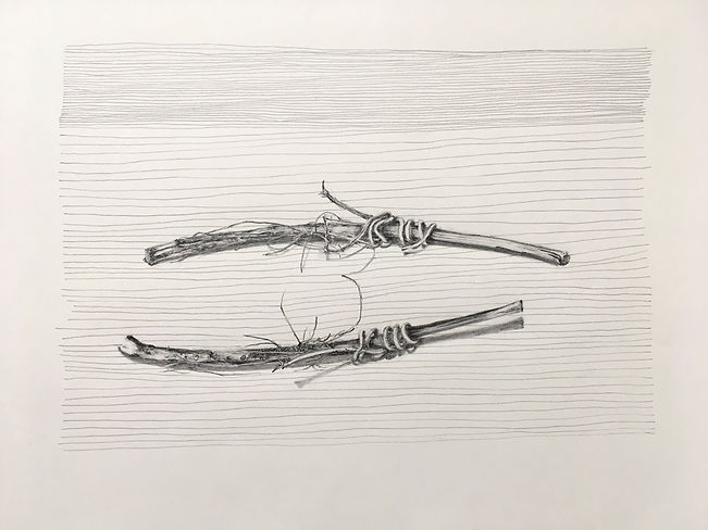 Charms Against Chaos, still life, graphite, works on paper, drawing, contemporary drawing, Susan Kester, Susan Haycock, goldsmith's alumini, Goldsmiths University,