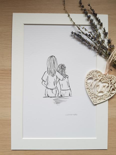 Mum - drawing