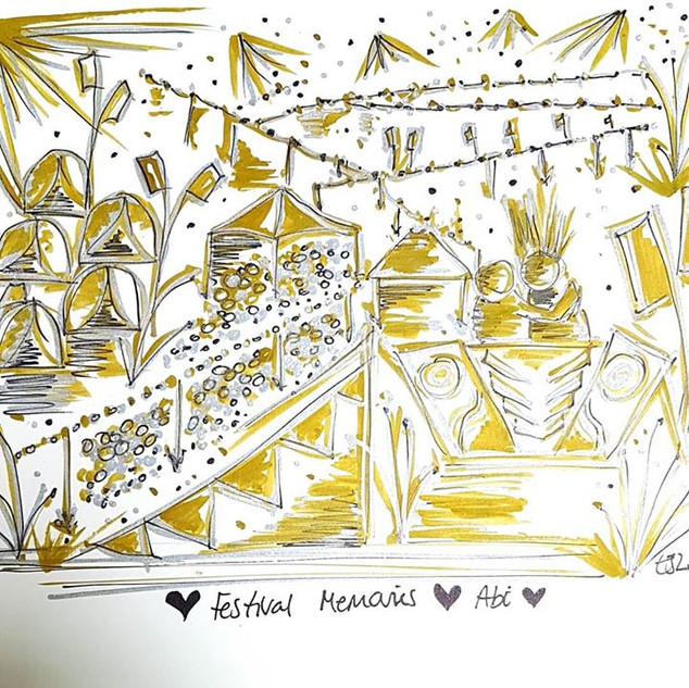 Loved creating this next #festivalsketch