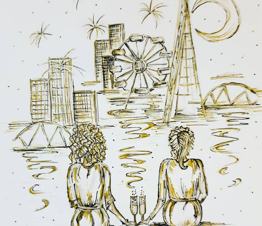 Commission - London love