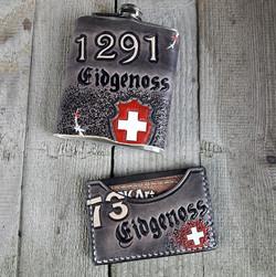 Eidg_Flachmann und Card Wallet