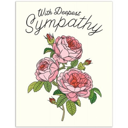 With Deepest Sympathy Roses
