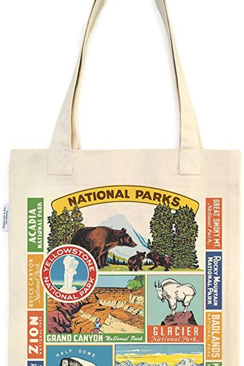 National Parks Vintage Tote