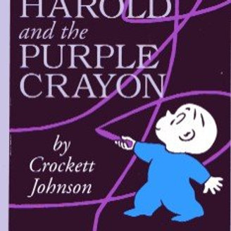 Harold and the Purple Crayon 60th Anniversary  Board Book