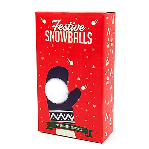 Festive Snowballs