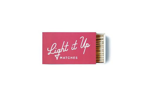 Light It Up Box of Matches