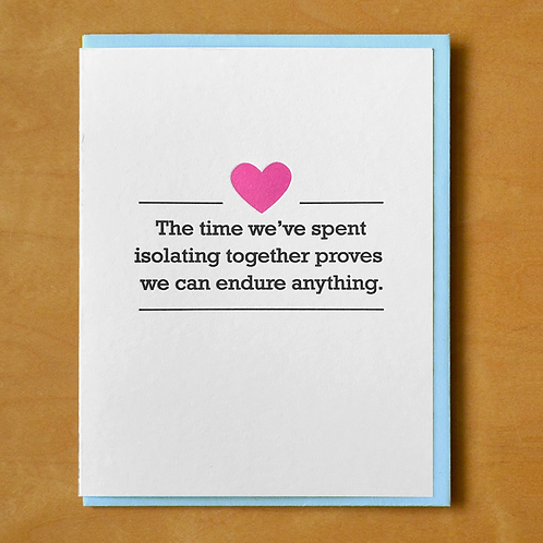 We Can Endure Anything Greeting Card