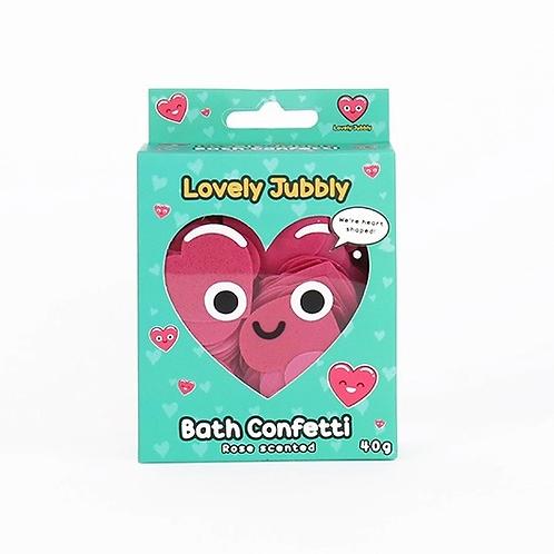 Heart Bath Confetti
