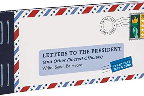Letters to the President & Other Elected Officials
