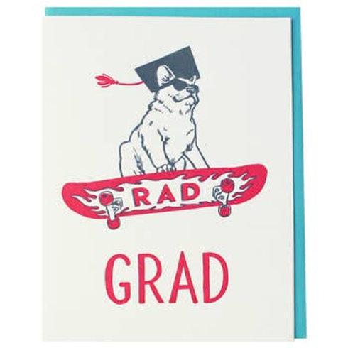 Rad Grad Greeting Card