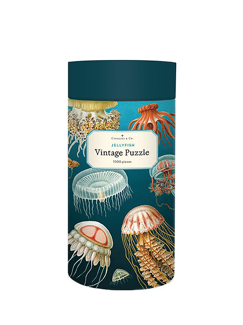 1000 Piece Vintage Jellyfish Puzzle