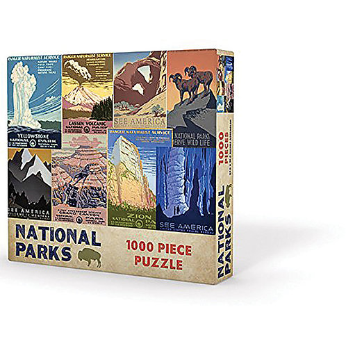 1000 Piece National Parks Puzzle
