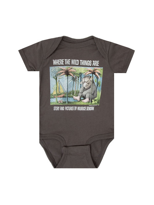12M Where Wild Things Are Onesie