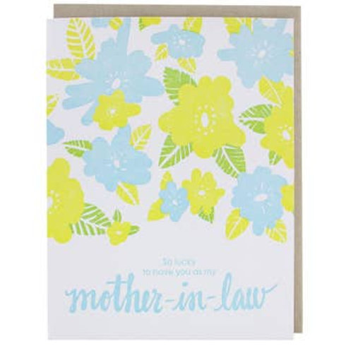 Mother-In-Law greeting card