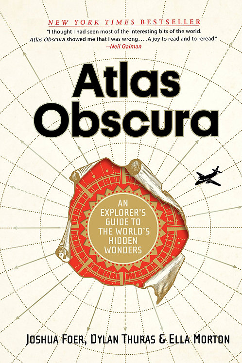 Atlas Obscura First Edition