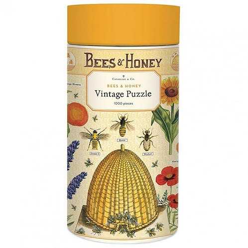 Bee's & Honey Vintage 1000 Piece Puzzle