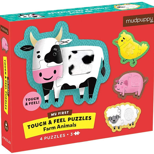 Touch & Feel Farm Animals Puzzle