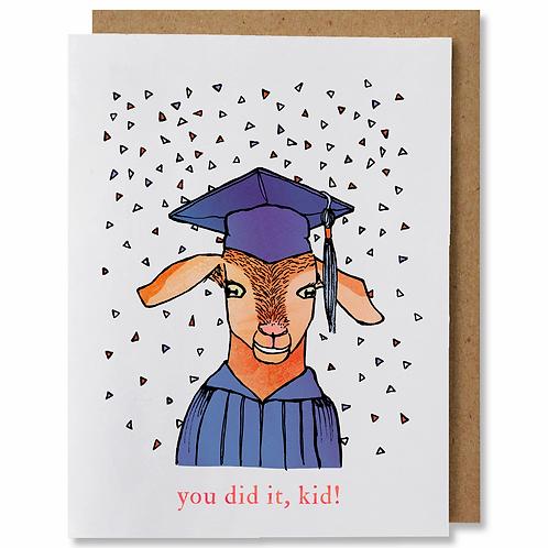 You Did It, Kid Greeting Card