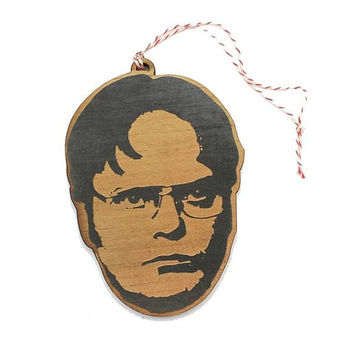 Classic Television Faces Wooden Ornaments