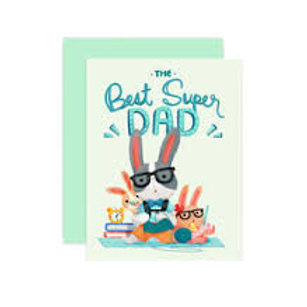 The Best Super Dad  Card