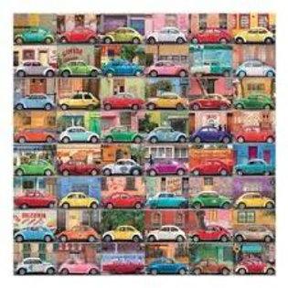 500 Piece Muchos Autos Puzzle