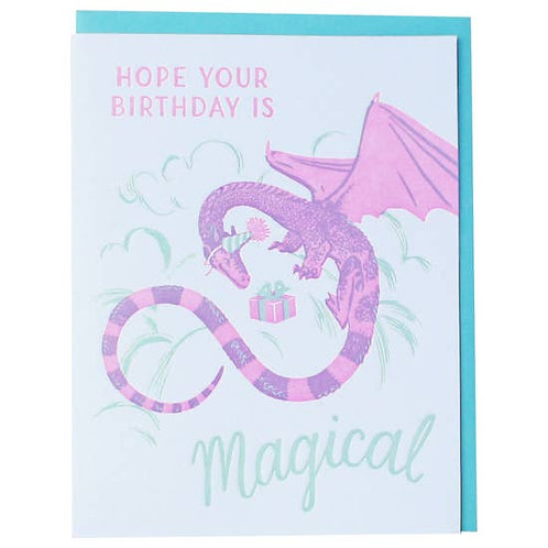 Hope Your Birthday Is Magical Greeting Card