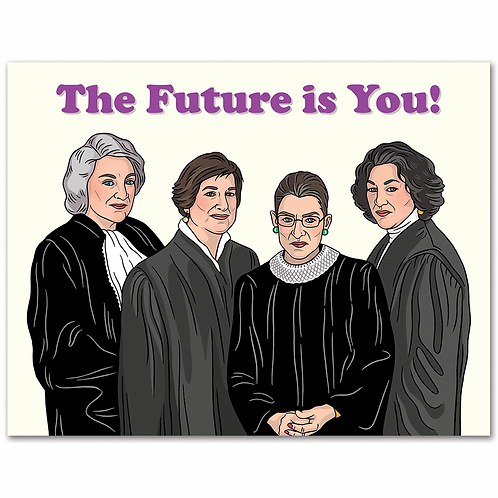 The Future is You Graduation Card