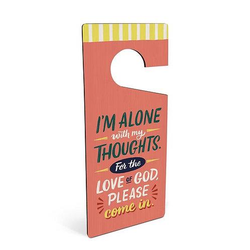 Thoughts Feelings Door Hanger