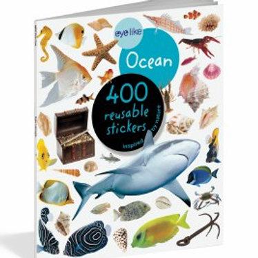 Eyelike Ocean 400 Reusable Stickers