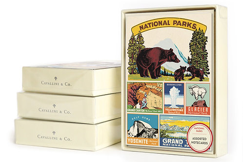 National Parks Assorted Notecards