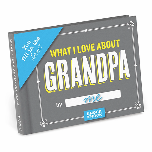 What I Love About Grandpa Fill In