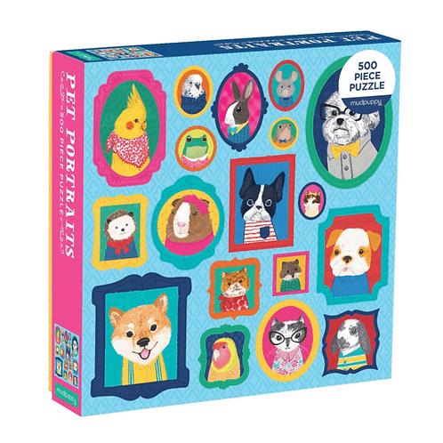 500 Piece Pet Portraits Puzzle