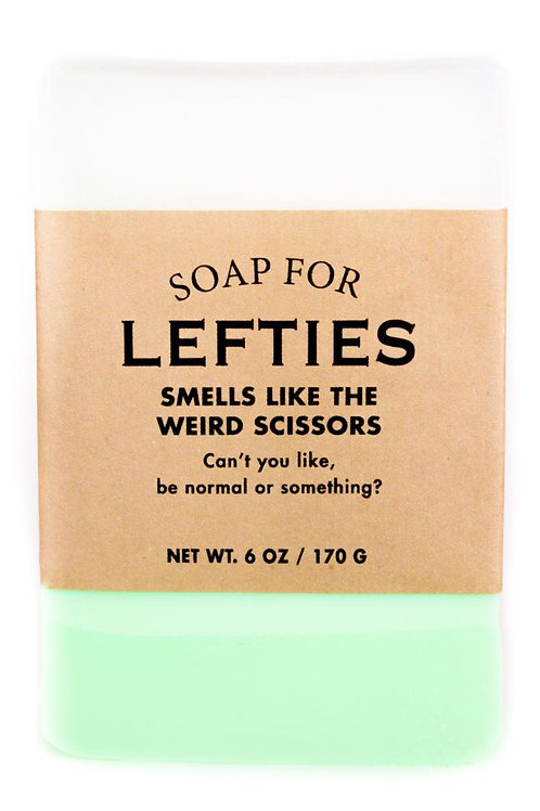 Soap for Lefties