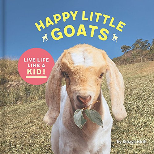 Happy Little Goats Puffy Cover Book