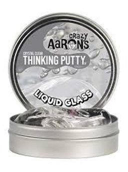 "Liquid Glass Crystal Clear Thinking Putty 4"""