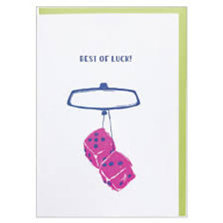 Best Of Luck Greeting Card
