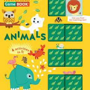Animals! Matching Game Book