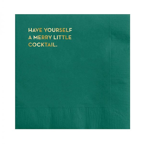 Have Yourself A Merry Little Cocktail Napkins