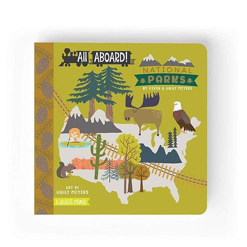 All Aboard! National Parks Board Book