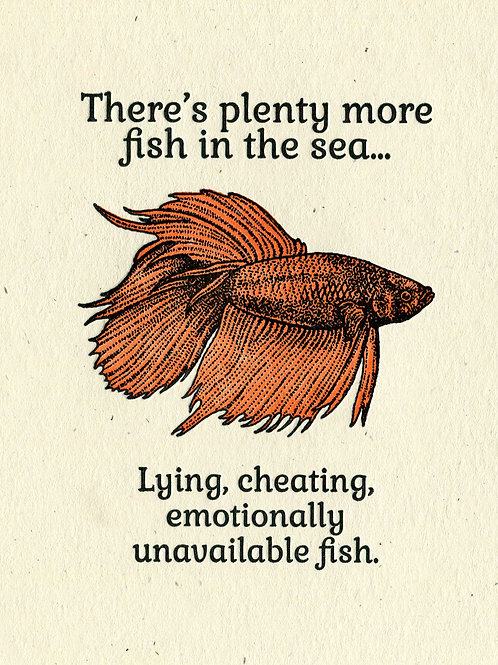 Plenty More Fish in The Sea Greeting Card